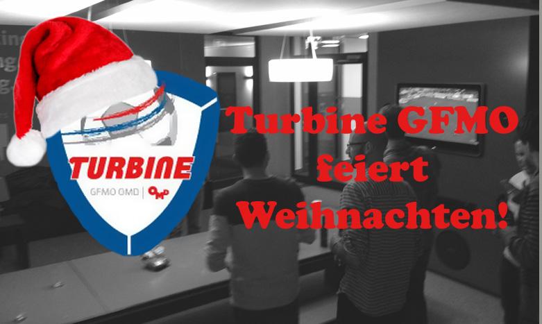 Die Turbine feiert Weihnachten!