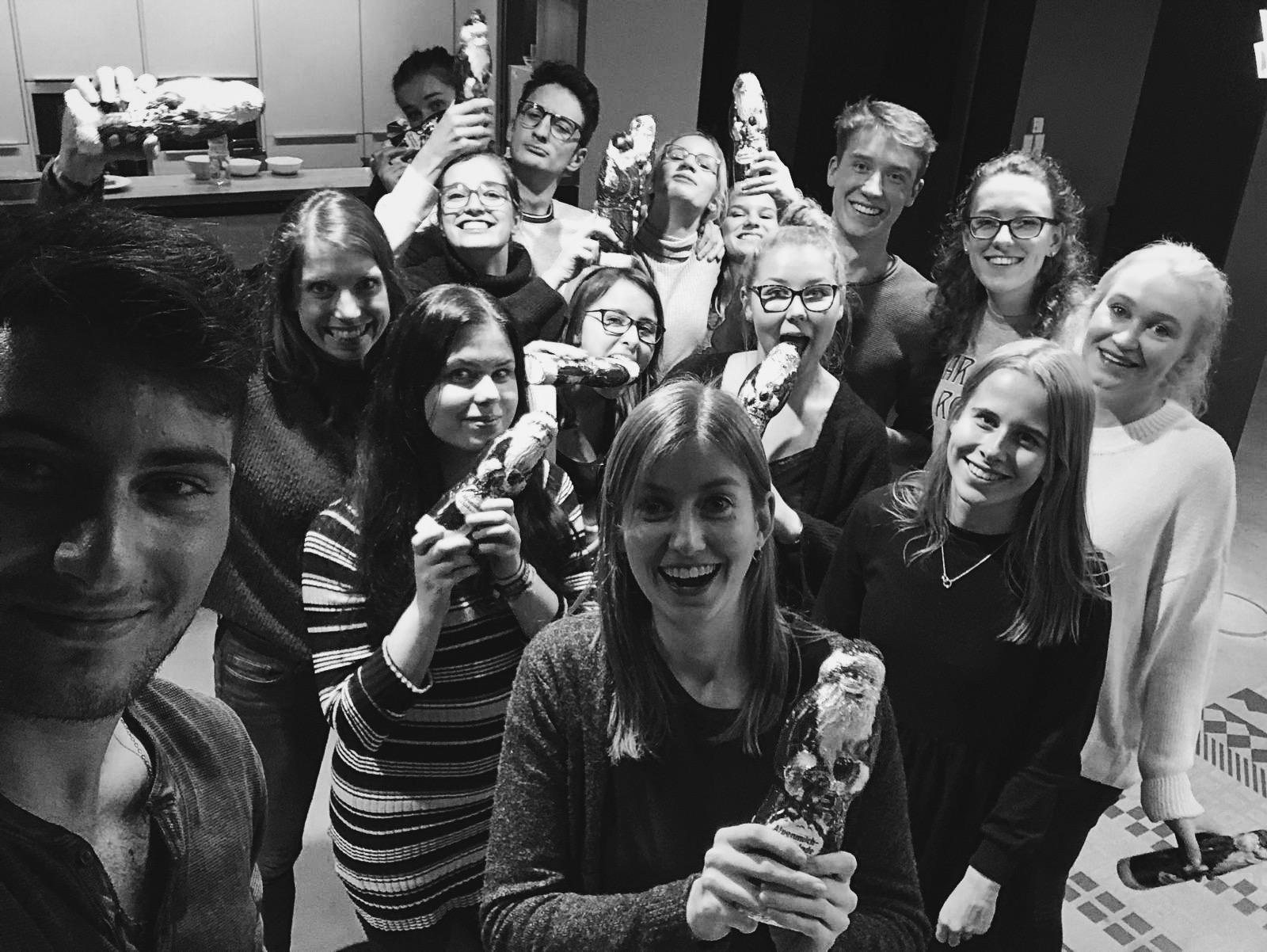 Festliche Weihnachtsstimmung bei der Omnicom Media Group Hamburg